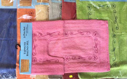 Set tappeti bagno archivi italia biancheria